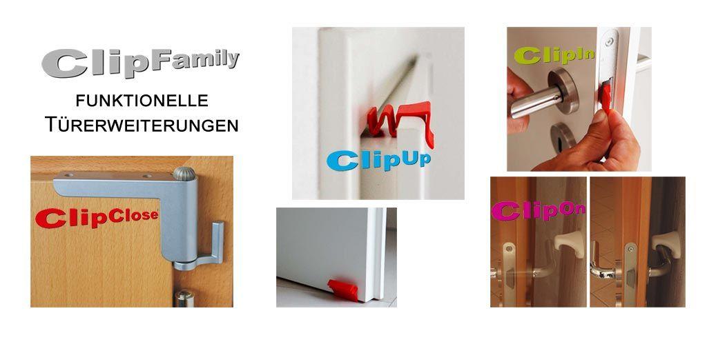 funktionelle Türerweiterungen von ClipFamily