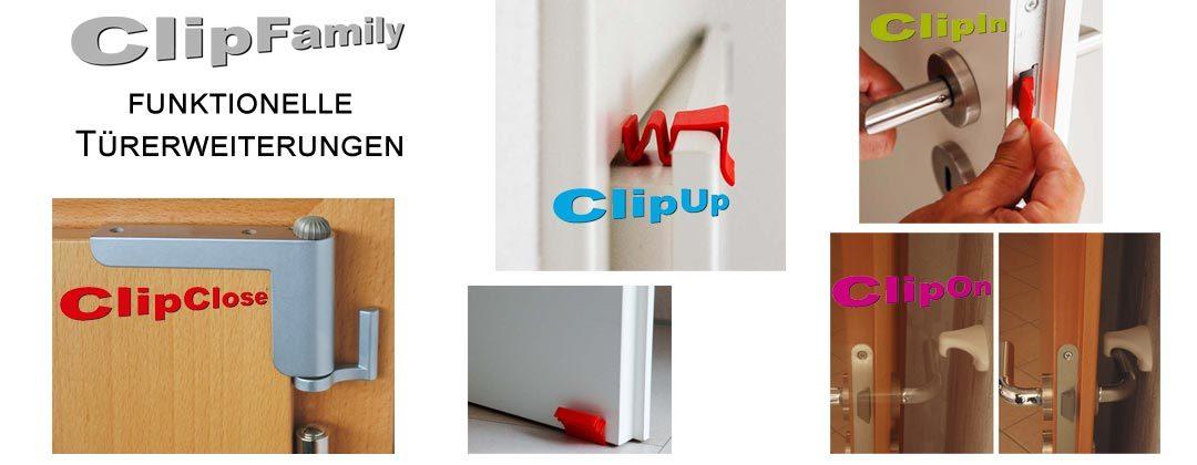 ClipFamily funktionelle Türerweiterungen 1