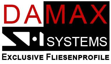 Fliesenprofile Hersteller DAMAX SYSTEMS Logo